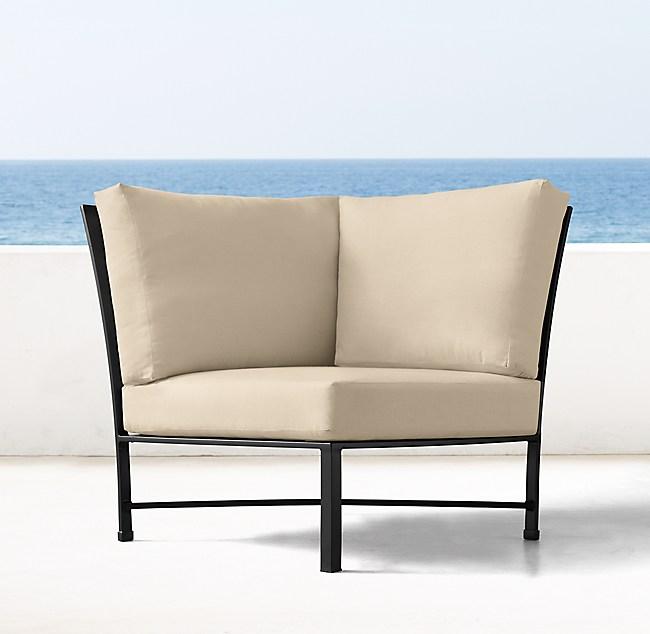 Carmel Luxe Corner Chair