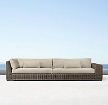Majorca Luxe Three-Seat Right-Arm Return Sofa
