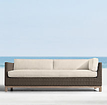 Malibu Three-Seat Left-Arm Return Sofa