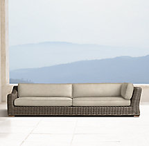 Provence Luxe Four-Seat Left-Arm Return Sofa