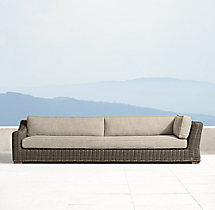 Provence Classic Four-Seat Left-Arm Return Sofa