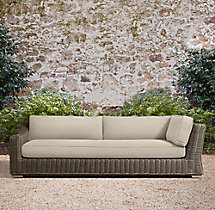 Provence Luxe Three-Seat Left-Arm Return Sofa