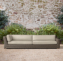 Provence Luxe Four-Seat Left/Right Arm Return Sofa Cushions