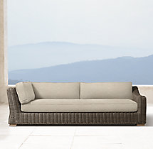Provence Luxe Three-Seat Left/Right Arm Return Sofa Cushions