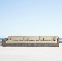 Majorca Luxe Four-Seat Left-Arm Return Sofa