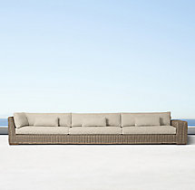 Majorca Luxe Four-Seat Right-Arm Return Sofa