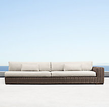 Majorca Classic Three-Seat Right-Arm Sofa