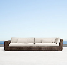 Majorca Classic Three-Seat Left-Arm Return Sofa