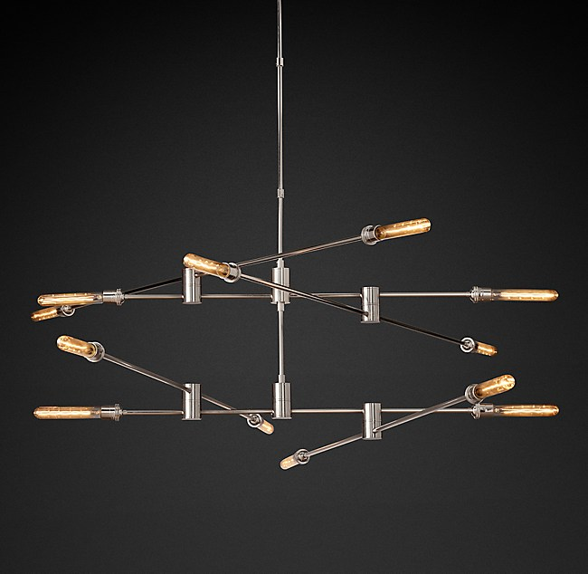 Kinetic 2 Tier Chandelier
