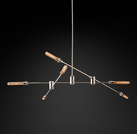 Kinetic Chandelier Collection Rh
