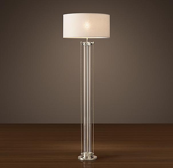 Flatiron floor lamp - Restoration hardware lamps table ...
