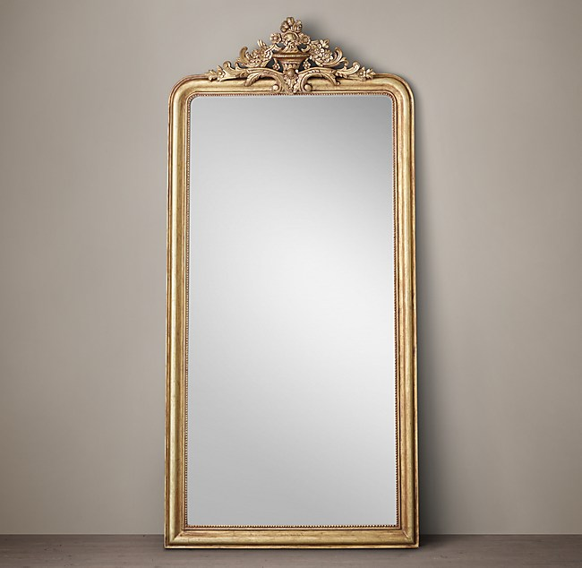 Very Louis Philippe Gilt Leaner Mirror OL28