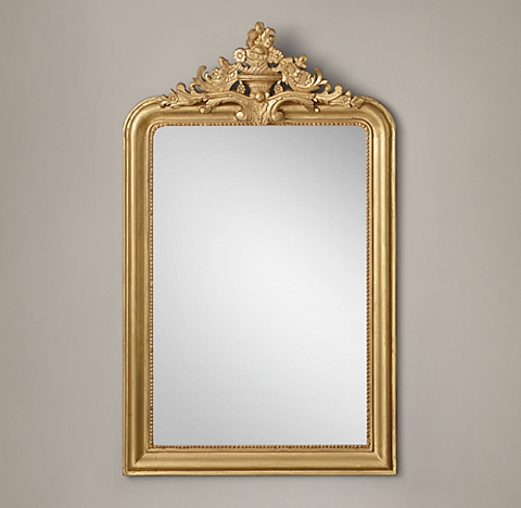 More Sizes Finishes Louis Philippe Gilt Mirror