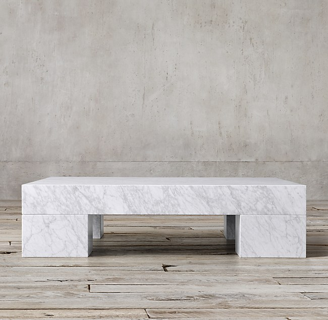 Marble Slab 59 Quot Square Coffee Table