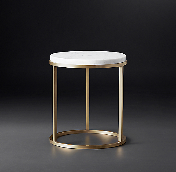 Nicholas marble round side table for Table design using jsp