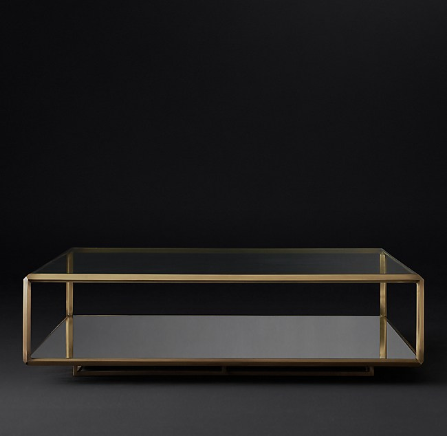 Troy Square Coffee Table - Rh modern coffee table