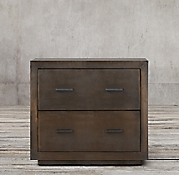 La Salle Metal Wrapped 2 Drawer Wide File Cabinet