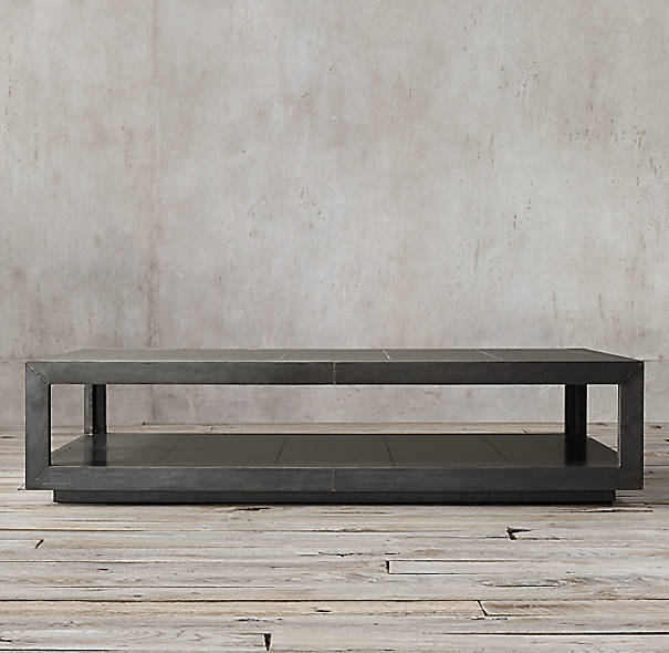 La Salle Metal Wrapped Coffee Table