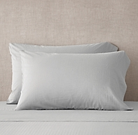 Ultra-Fine Lightweight Cotton Pillowcases (Set Of 2)