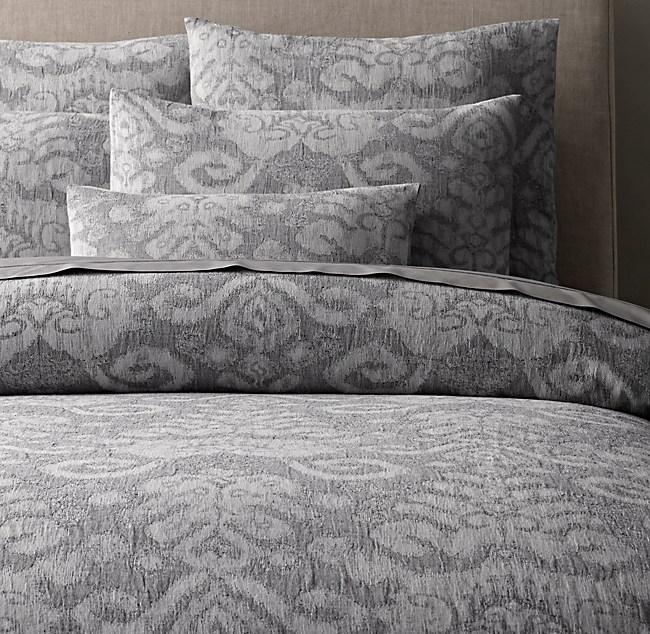 Textural Jacquard Duvet Cover : jacquard quilt cover sets - Adamdwight.com