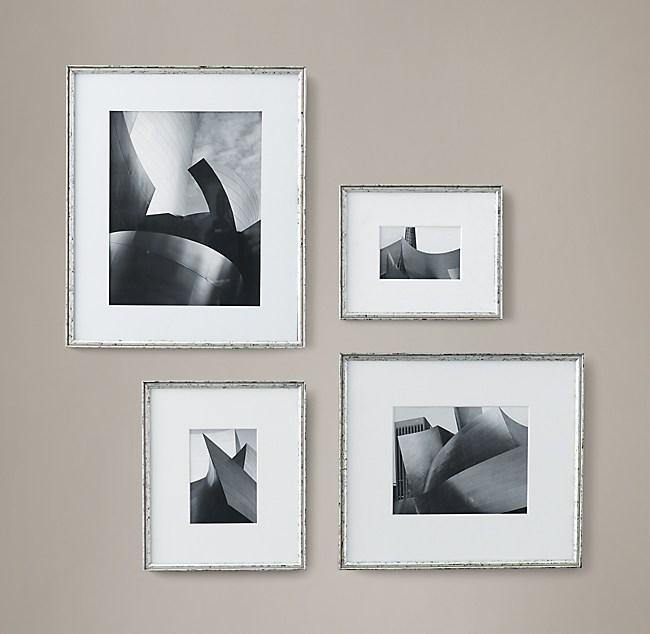 Gilt Gallery Frames - Silver