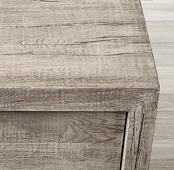 Reclaimed Russian Oak 9 Drawer Dresser