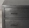 La Salle Metal Wrapped 5 Drawer Dresser