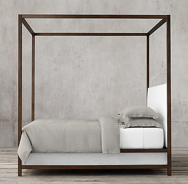 Montrose Low Panel Four Poster Bed