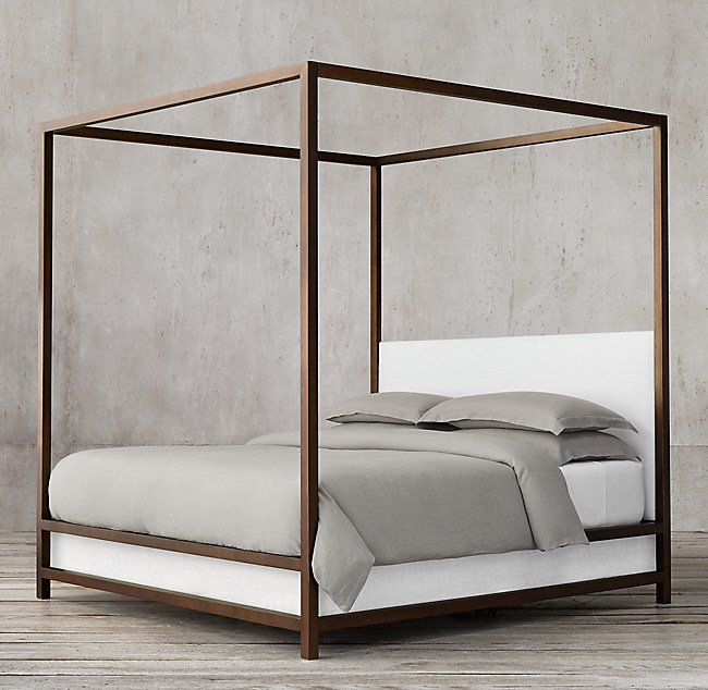 Montrose Low Panel Canopy Bed