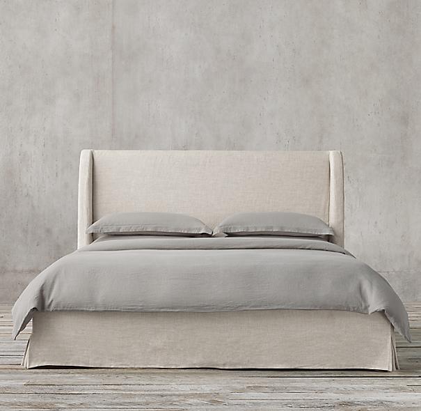 Bedford Slipcovered Bed