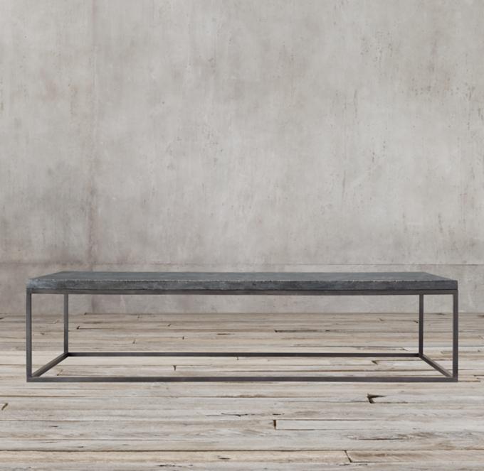 Bluestone Metal Coffee Table