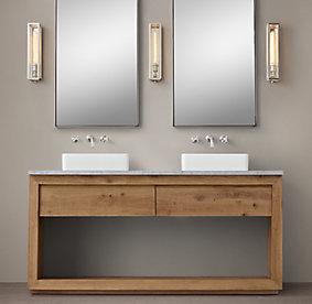 Bathroom Vanity Restoration Hardware all vanities & sinks | rh