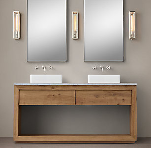 more finishesAll Vanities   Sinks   RH. Kent Bathroom Vanity Restoration Hardware. Home Design Ideas