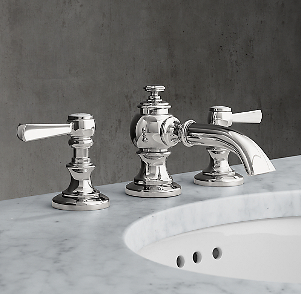 restoration hardware kitchen faucet lugarno 8 quot widespread faucet 21523