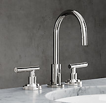 "Spritz Lever-Handle 8"" Widespread Faucet Set"