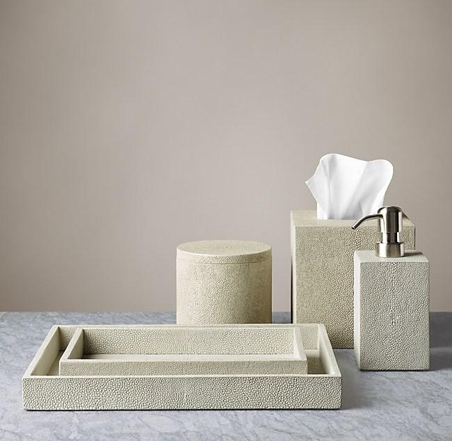 Bathroom Accessories Restoration Hardware bath accessories - dove
