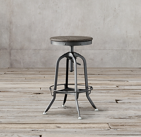 more finishes 1940s Vintage Toledo Barstool