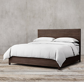 Bedroom Sets Restoration Hardware wood beds | rh