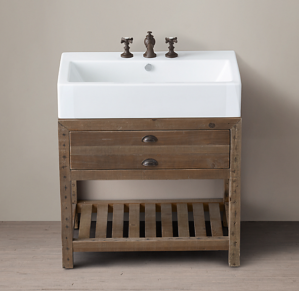 Printmaker S Console Washstand