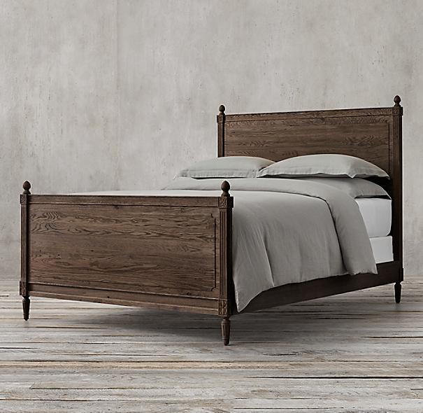 Restoration Hardware Louis Xvi Dresser: Louis XVI Bed With Footboard