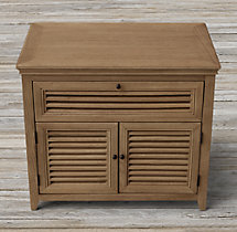 "Shutter 30"" Closed Nightstand"