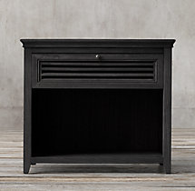 "Shutter 30"" Open Nightstand"
