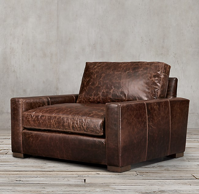 Maxwell Leather Chair And A Half