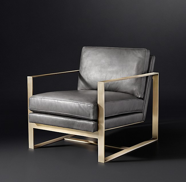 Alfieri Leather Chair
