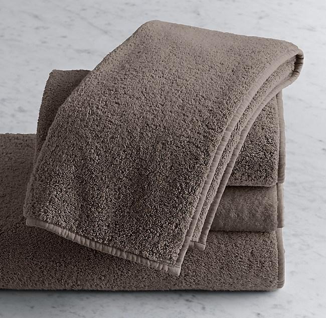 Garment Washed Turkish Terry Hand Towel