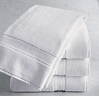 Parallel Border Turkish Cotton Bath Towel
