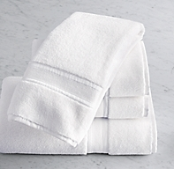 Parallel Border Turkish Cotton Hand Towel