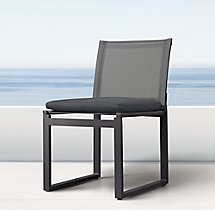 Aegean Aluminum Side Chair Cushion
