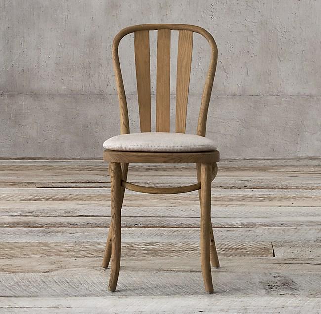 Paris Bistro Side Chair Cushion