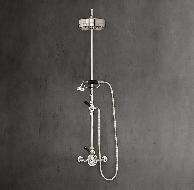 Mackintosh Godolphin Dual-Control Exposed Thermostatic Mixing ...